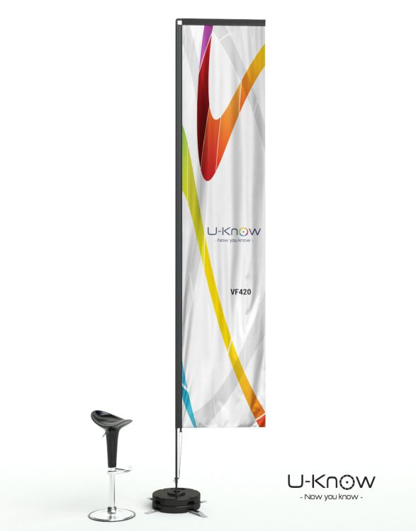 VF 420  VOILE VERTICAL 4M20